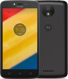 Motorola Moto C+ Dual S IM Starry Black 1/16GB Mobilais Telefons