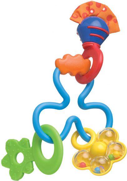 Playgro 181587 Twisted Rattle 6/48 bērnu rotaļlieta