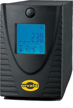 ORVALDI 800LCD USB 4 outlets IEC320 USB nepārtrauktas barošanas avots UPS