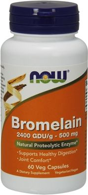 NOW Foods Bromelain 60 capsules
