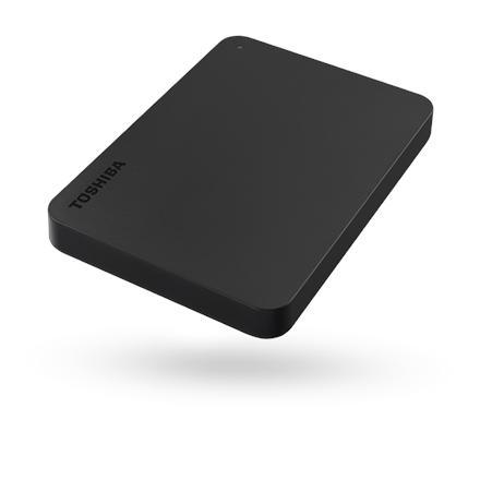 Toshiba Canvio Basics 2.5'' 2TB USB 3.0, Black Ārējais cietais disks