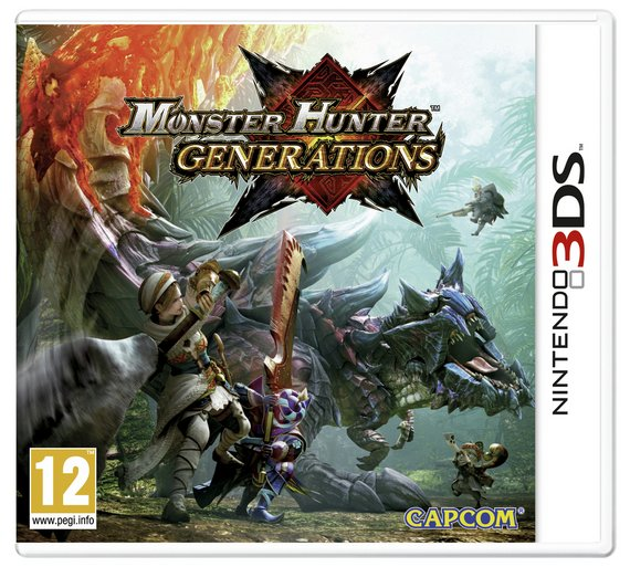 MONSTER HUNTER GENERATIONS 3DS spēle