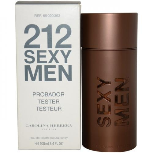 Carolina Herrera 212 Sexy for Men EDT, 100ml Testeris Vīriešu Smaržas