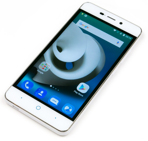 ZTE Blade A452 1GB/8GB white Mobilais Telefons