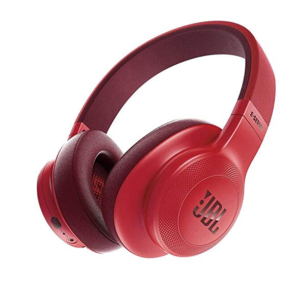 JBL E55BT - Headphones with Microphone - Full-Size - Bluetooth - Wireless - Red austiņas