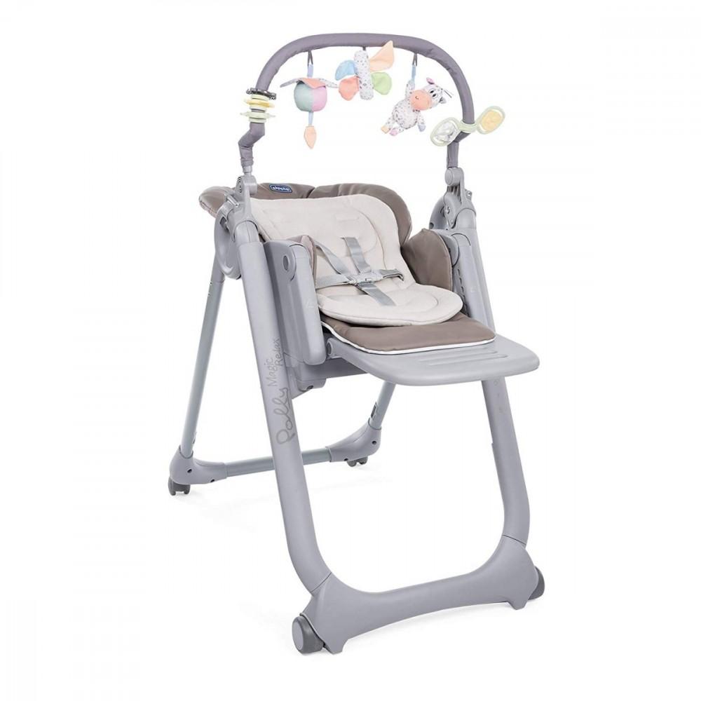 Chicco Polly Magic Relax 4 Kolka Cocoa bērnu barošanas krēsls
