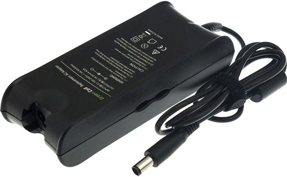 Green Cell for Dell Latitude D600 D610 D620 D630 D400 D800 1545 XPS 16 M1530 90W/19.5V/4.62A/7.4mm-5.0 portatīvo datoru lādētājs