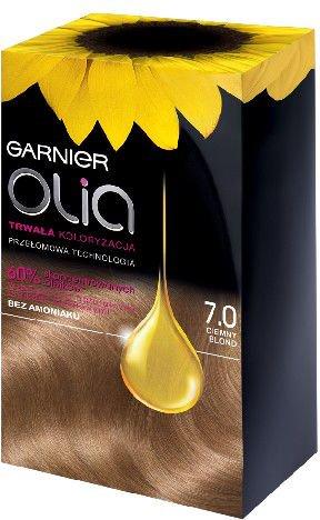Garnier Olia Farba nr 7.0 Ciemny Blond 0346883
