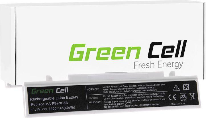 Green Cell Samsung NP270E5E NP300E5A NP300E5C NP300V5A white (SA01B) akumulators, baterija portatīvajiem datoriem