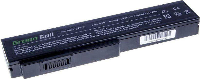 Green Cell Asus N43 N53 G50 L50 M50 M60 N61VN N61JV N61VG A32-M50 A32-N61 11.1V 6 cell (AS08) AS08 akumulators, baterija portatīvajiem datoriem