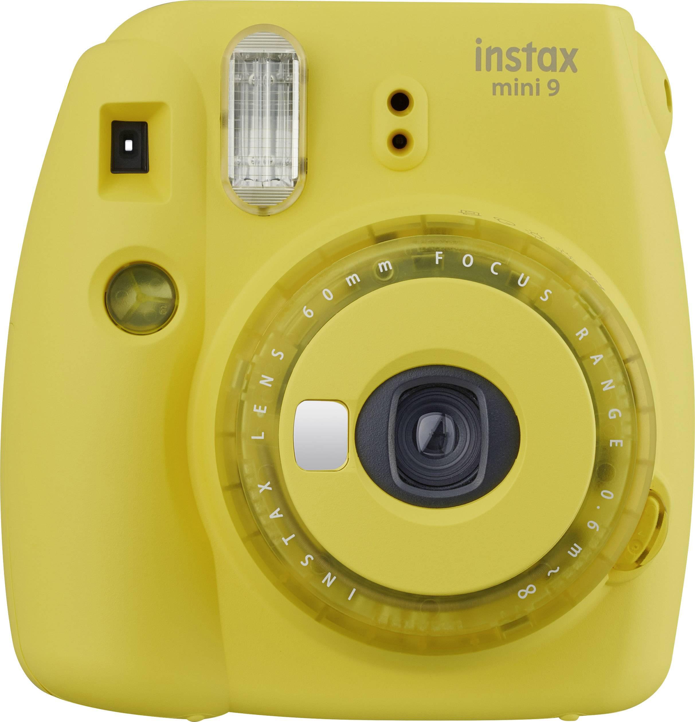 Fujifilm Instax Mini 9, dzidri dzeltens 4547410414189 4547410414189 Digitālā kamera