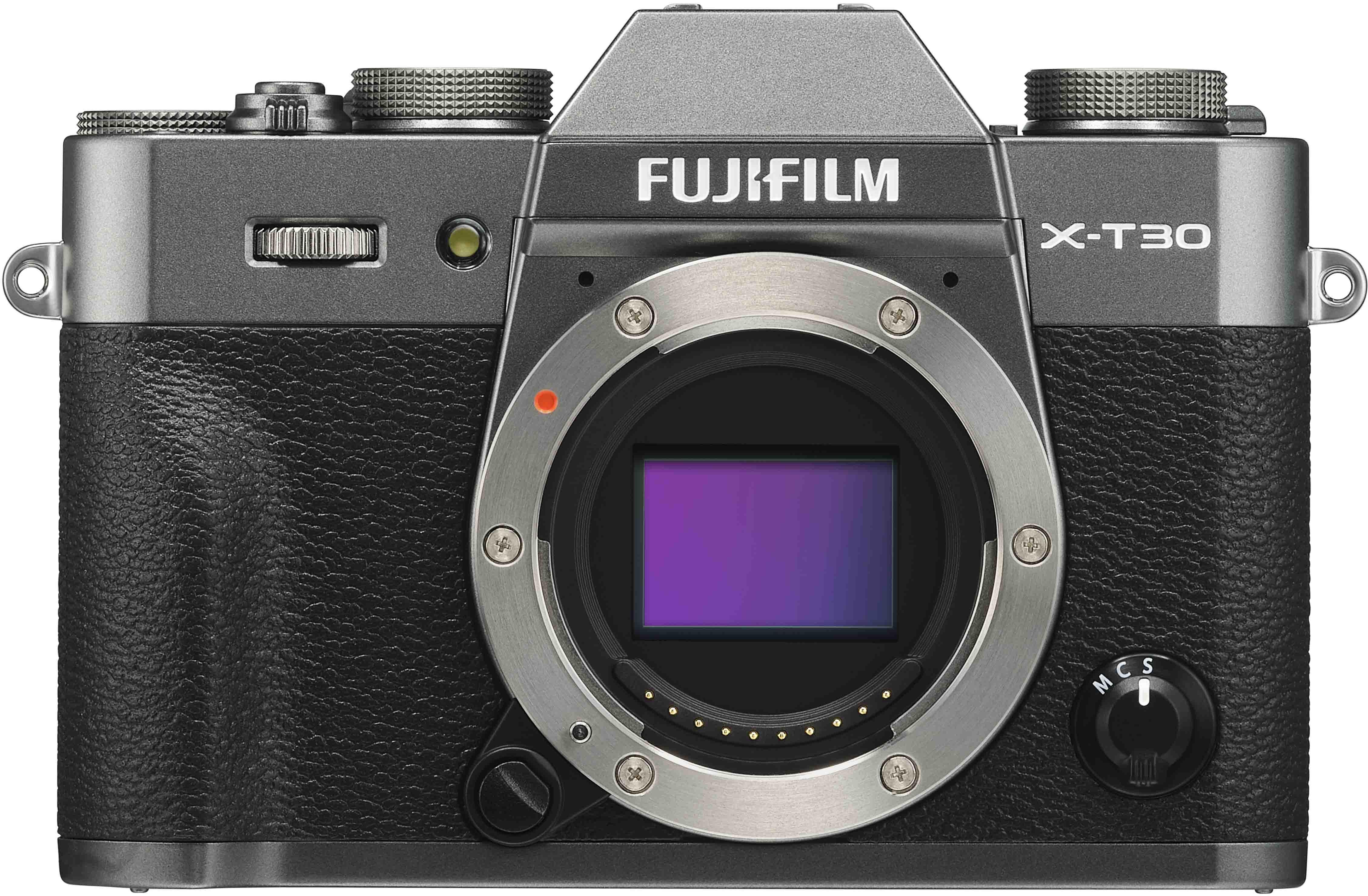 Fujifilm X-T30 korpuss, kokogles pelēks 4547410400229 16619700 Digitālā kamera