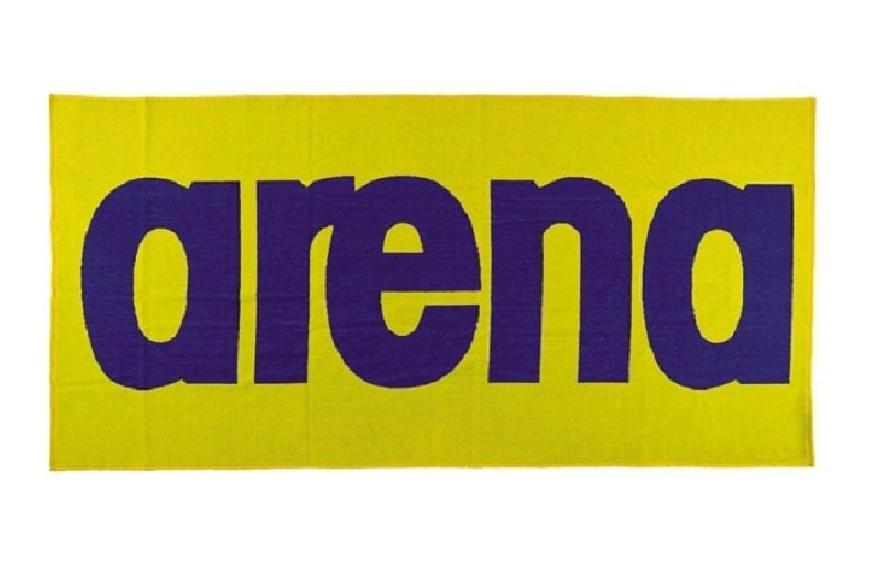 Towel Arena Logo Towel 51281/38 (80x170 cm; yellow color) 51281/38