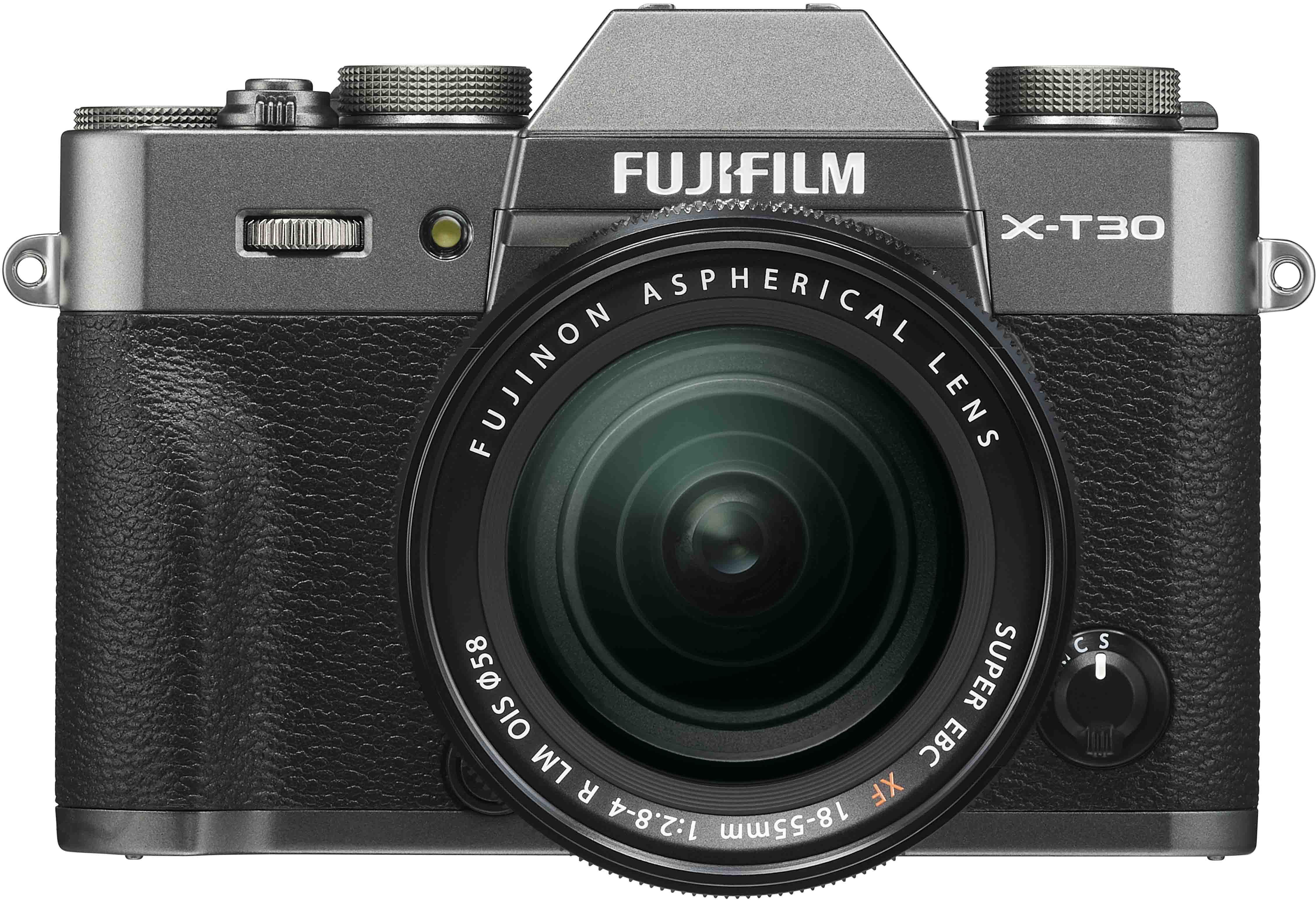 Fujifilm X-T30 + 18-55mm Kit, kokogles pelēks 4547410400281 16620125 Digitālā kamera