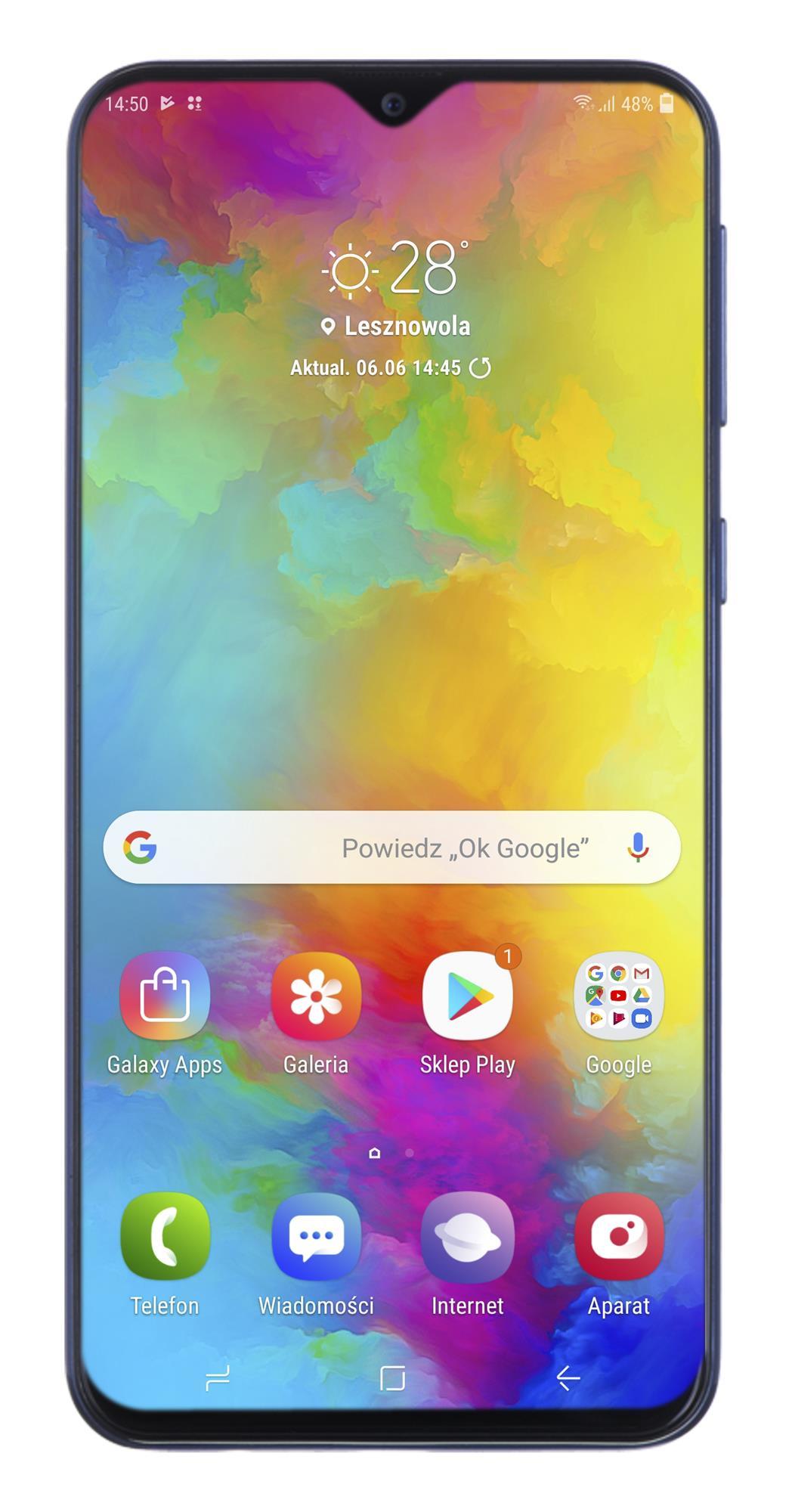 Samsung Galaxy M20 64GB Blue Mobilais Telefons
