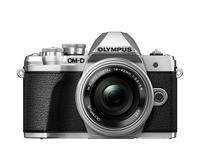Olympus E-M10 Mark III Korpus Srebrny + EZ-M1442EZ Srebrny Digitālā kamera