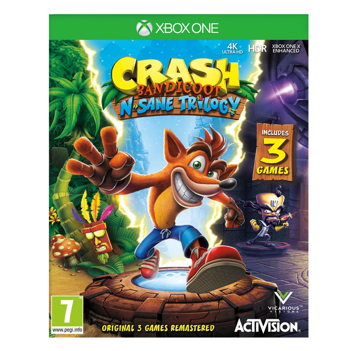 Microsoft XBOX ONE Crash Bandicoot N.Sane Trilogy