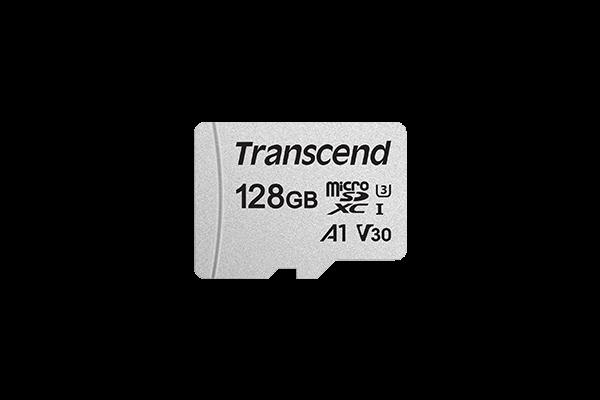 Transcend microSDXC USD300S 128GB CL10 UHS-I U3 Up to 95MB/S atmiņas karte