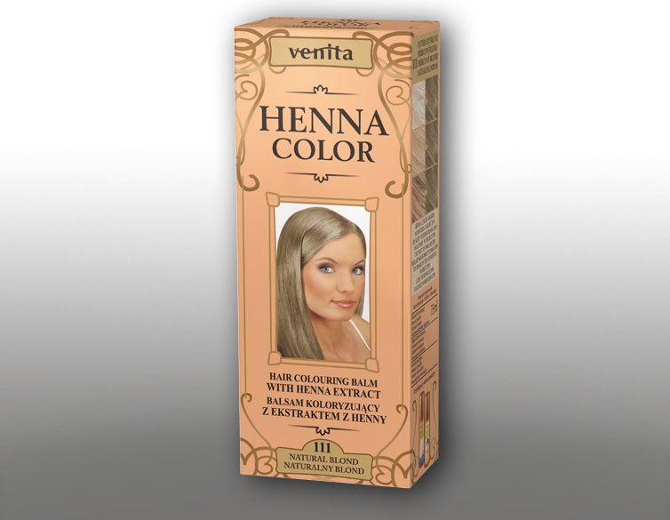 Venita Ziolowe Balsamy Henna Color 111 Naturalny blond  75ml V0038