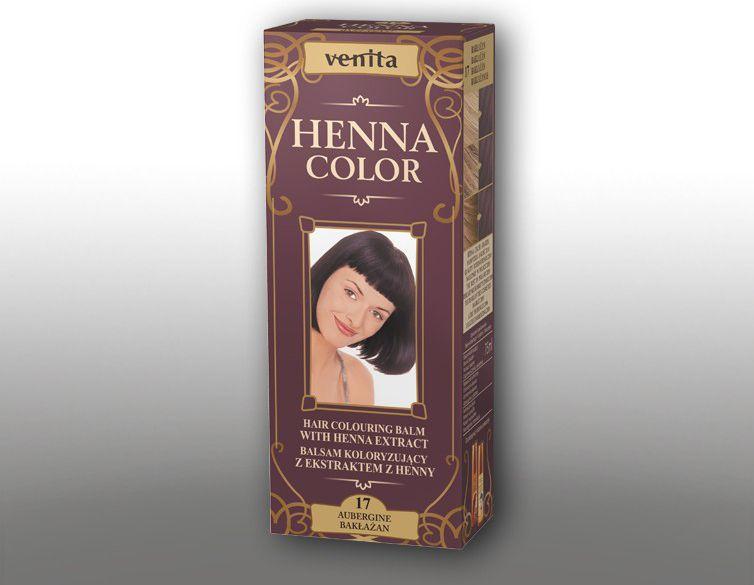 Venita Ziolowe Balsamy Henna Color  17 Baklazan 75ml V1097