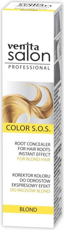 Venita Salon Korektor odrostow Color S.O.S. Blond spray 75ml V1714