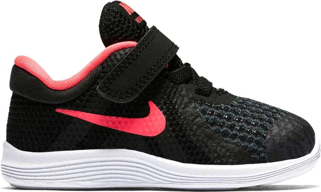 Nike Buty dzieciece Revolution 4 TDV czarne r. 21 (943308-004) 943308-004