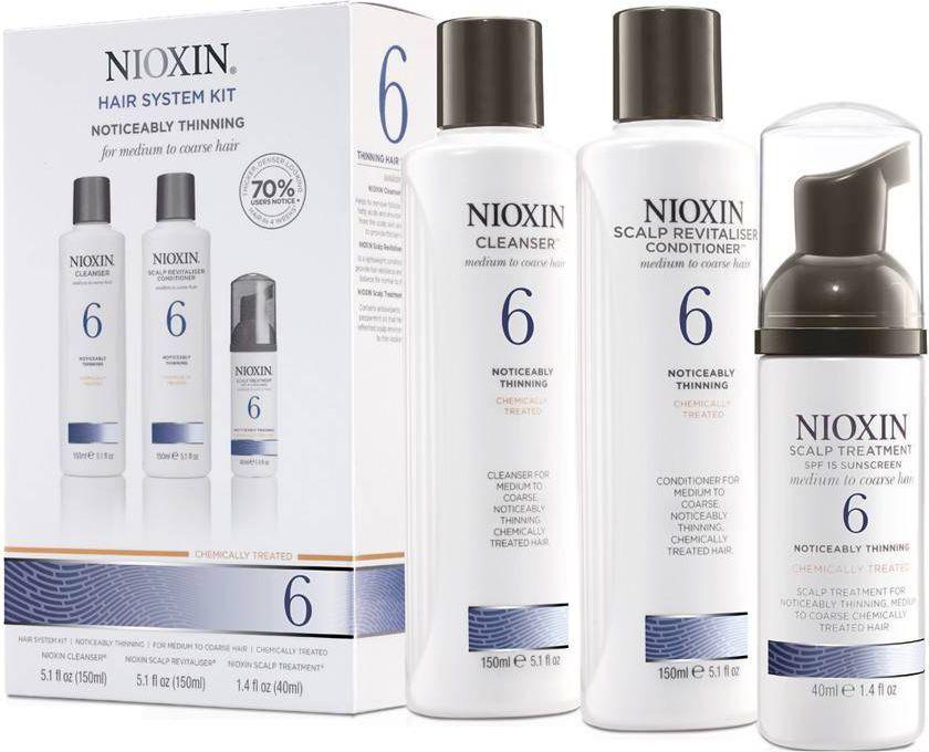 Nioxin Hair System 6 Kit W 340ml