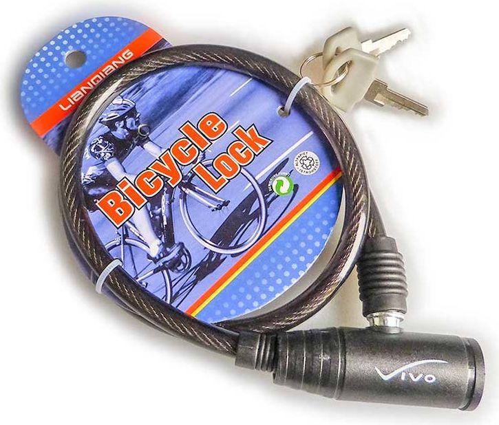VIVO Zamkniecie LQ-116  6 x 650 mm na klucz czarne rjx 4673359
