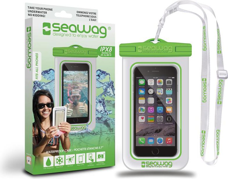 SEAWAG waterproof case   for smartphone whitegre