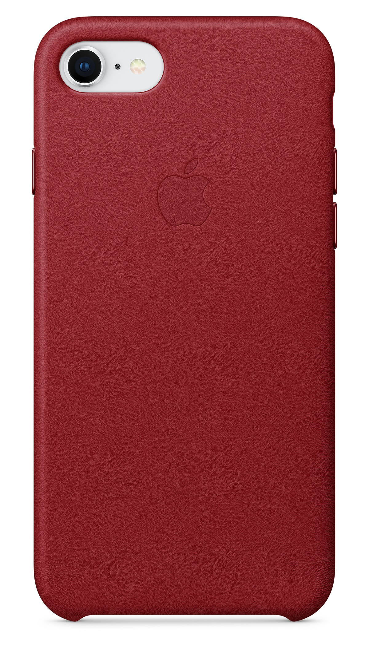 Apple leather case for iPhone 8 red - MQHA2ZM/A