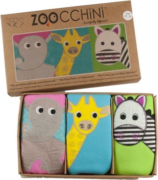 Zoocchini Zoocchini Majtki Treningowe Dziewczece 2-3 4690342