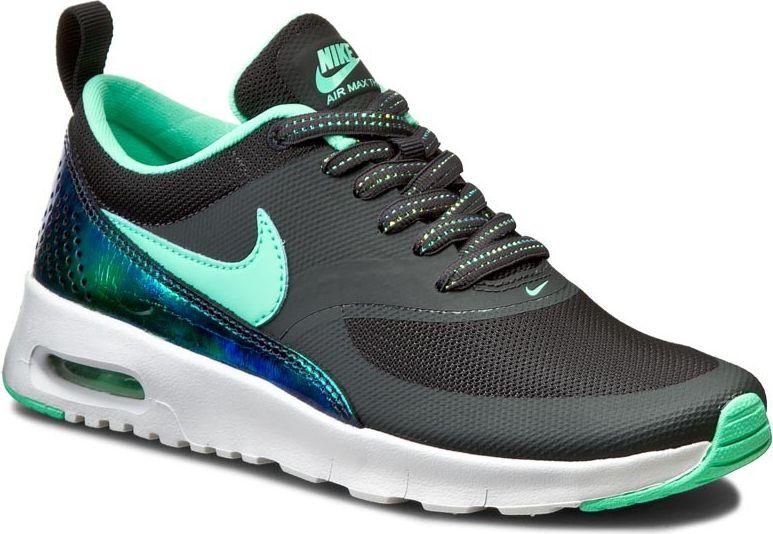 Nike Buty dzieciece Air Max Thea Print GS czarno-mietowy r. 35 1/2 (820244-002) 820244-002