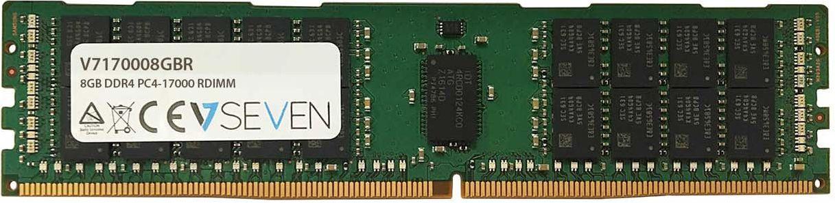 Pamiec serwerowa V7 DDR4  8GB,  2133MHz,  CL15, ECC (V7170008GBR) V7170008GBR
