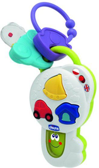 CHICCO Graj¹ce klucze PL /EN bērnu rotaļlieta