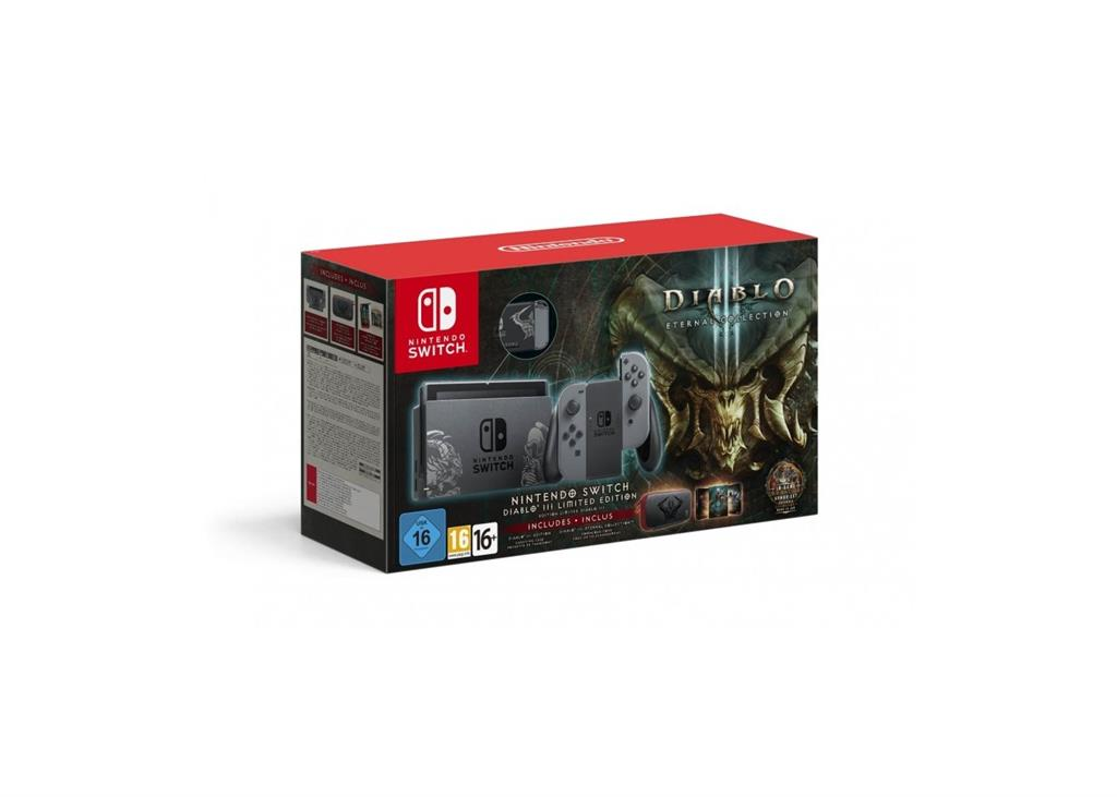 Nintendo Switch Console + Diablo Eternal Collection - Limited Edition spēļu konsole