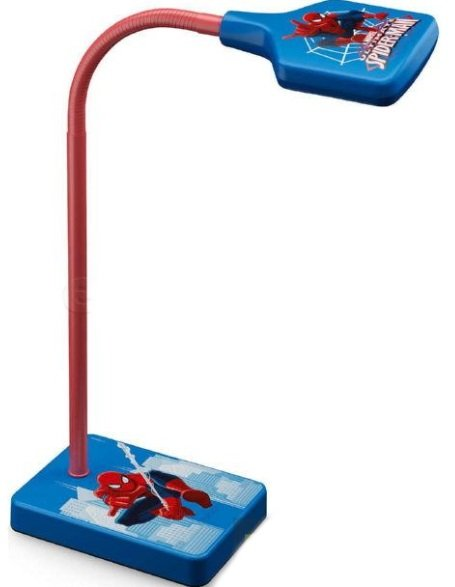 Philips Disney Marvel 717704016 Spider -Man Moderna un Fleksibla 3W Led Galda Lapma