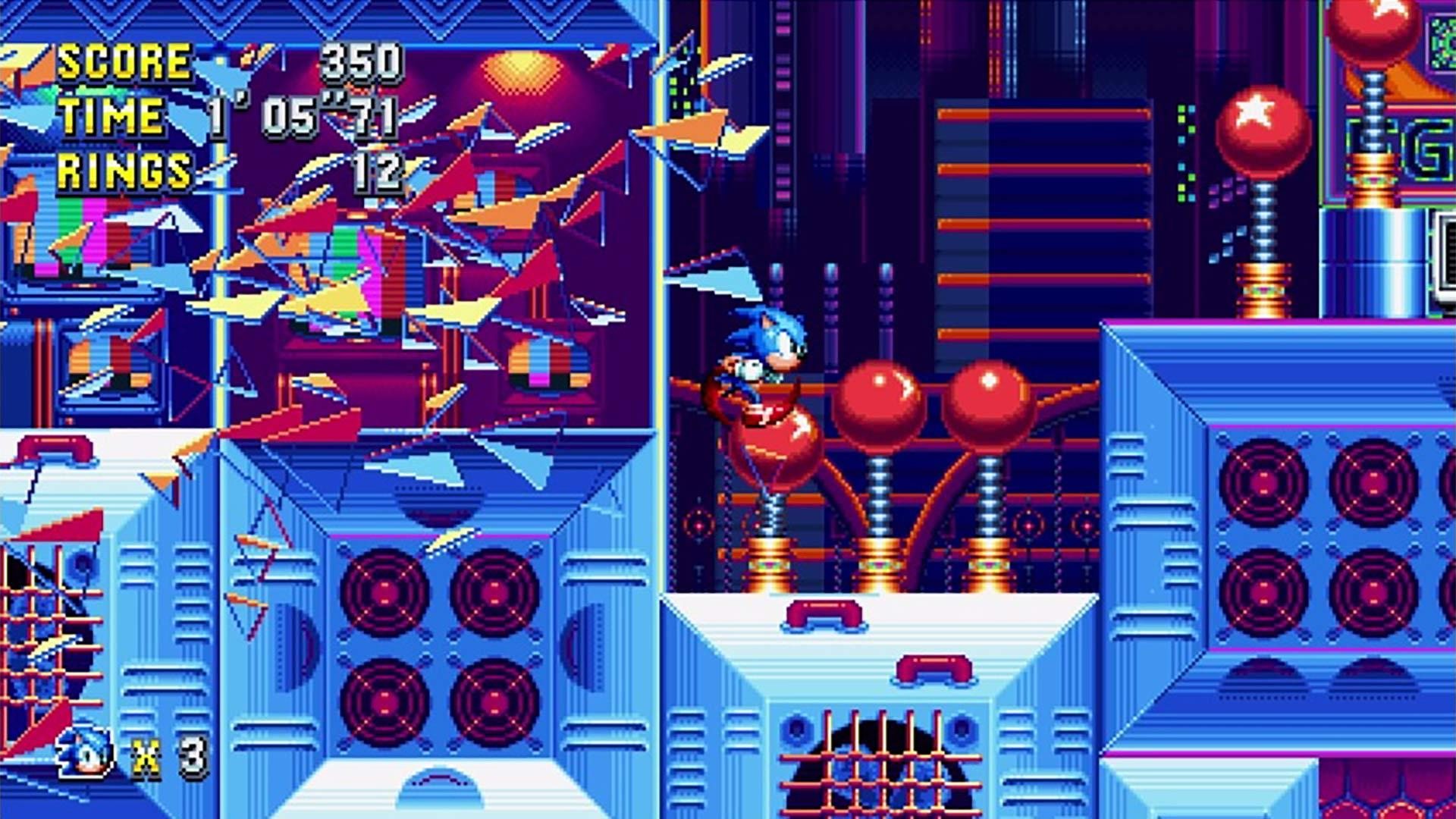 Game Sonic Mania Plus & Sonic Forces Double Pack (BOX version; Blu-ray; ENG, PL; from 7 years old) GRYGEBPS40001