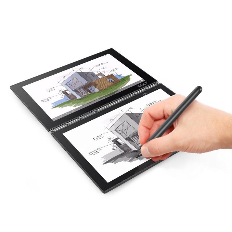 Lenovo IdeaTab Yoga Book 1-X90L 10.1, Black, IPS, FHD , Intel Atom, Z8550, 4 GB, LPDDR3, 64 GB Planšetdators
