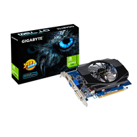 Gigabyte GeForce GT 730, 2GB DDR3 (64 Bit), HDMI, DVI, D-Sub video karte
