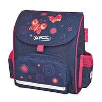 Herlitz Tornister Mini Softbag Butterfly (11438454) Skolas somas un penāļi