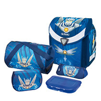 Herlitz Flexi Plus Robot Boy Polyester Blue school bag set Skolas somas un penāļi