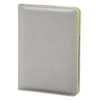 case for tabletu Hama Lissabon Silver-green (1064960000) planšetdatora soma