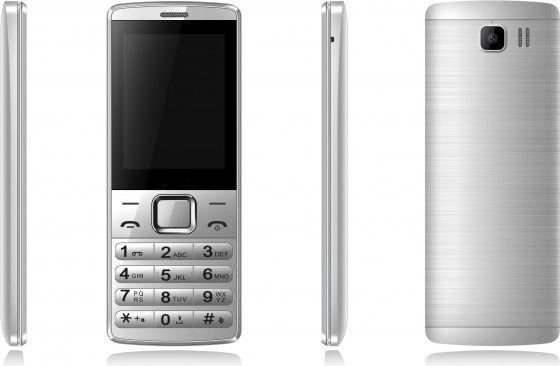 QSMART MB250 Silver Mobilais Telefons