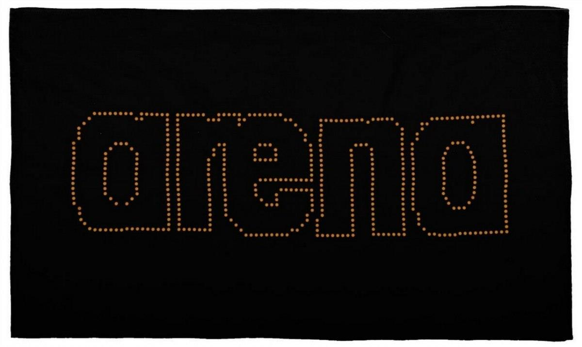 Towel Arena Haiti 2A489/53 (60x100 cm; black color) 2A489/53