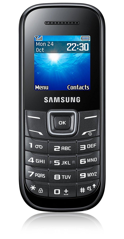 Samsung E1200Y Keystone 2 black Mobilais Telefons