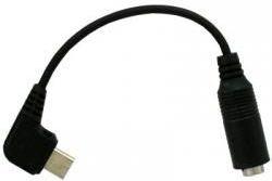 Nemo MiniJack cable 3.5 mm USB Micro, Black