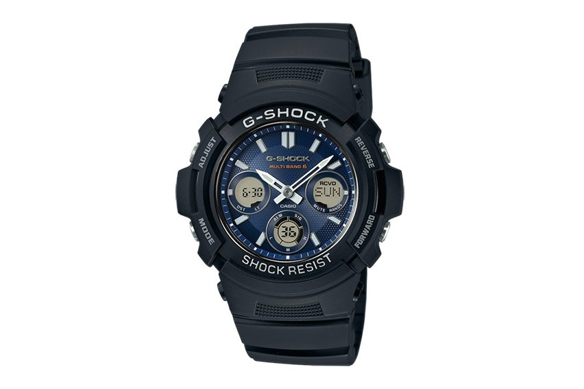 Casio AWG-M100SB-2AER G-Shock Solar Resin Band Men`s Watch Rokas pulksteņi