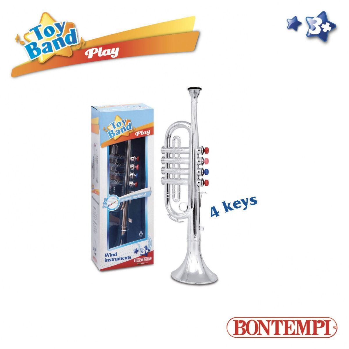 Dante Bontempi Play Silver Trumpet (041-14447) 041-14447