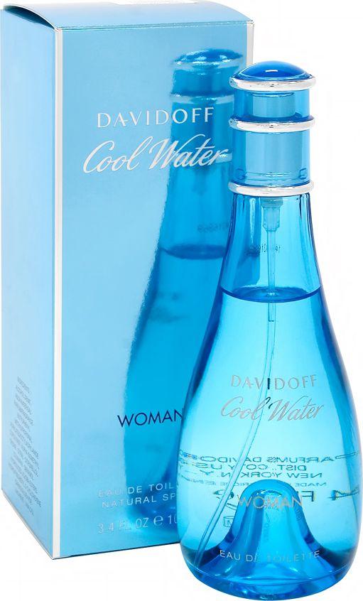 Davidoff Cool Water Woman EDT 100ml 6111752 Smaržas sievietēm