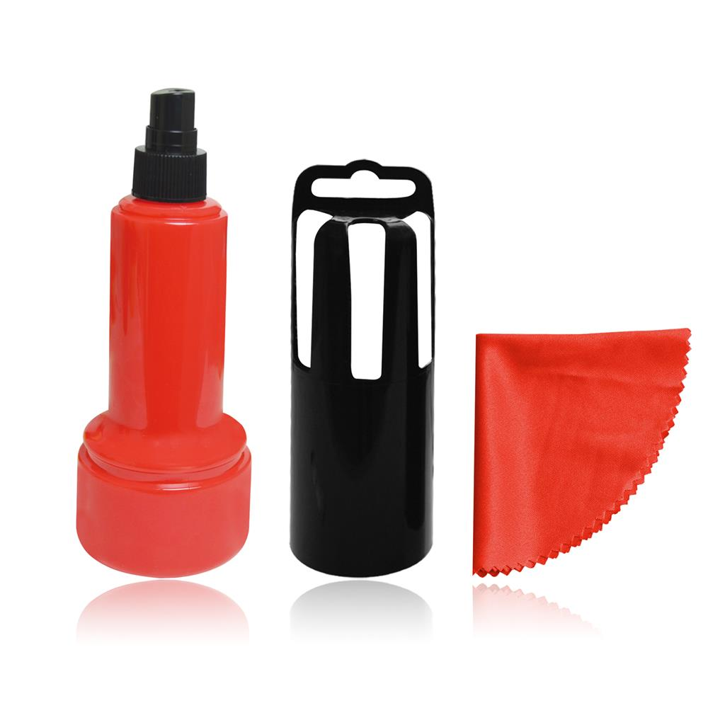 VAKOSS Cleaning Kit for LCD, 60ml gel, cloth, red CK-6205KR tīrīšanas līdzeklis